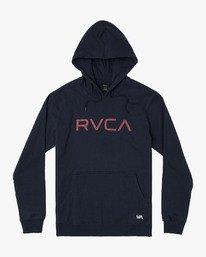 0 BIG RVCA HOOD Blue M602VRBI RVCA