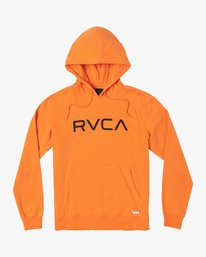 0 Big RVCA Hoodie Orange M602VRBR RVCA