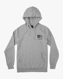 0 SF Flipped Pullover Hoodie Grey M608JRSE RVCA
