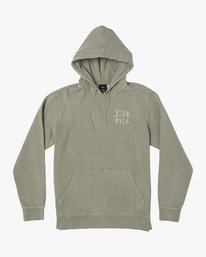 0 BY A THREAD HOODIE Green M6213RBY RVCA