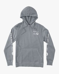 0 Elevation Hoodie Blue M621QREL RVCA