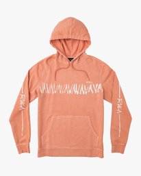 0 Elevation Hoodie Brown M621QREL RVCA