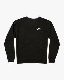 0 VA Vent Crew Sweatshirt Black M622TRVV RVCA