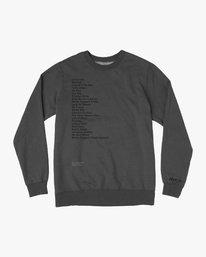 0 Mills BL Tokyo Fleece Sweatshirt Grey M622VRMM RVCA