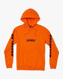 0 Slappy Pullover Hoodie Orange M629VRSH RVCA