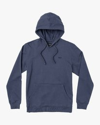 0 Eddy Pullover Knit Hoodie Blue M632VREH RVCA