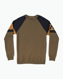 0 Benny Colorblocked Sweatshirt  M640SRBC RVCA