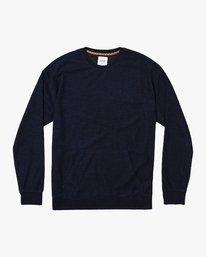 0 Hi-Grade Crew Sweatshirt Blue M653VRJC RVCA