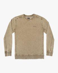 0 Upsal Distressed Fleece Sweatshirt  M685WRUP RVCA