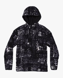 0 Mundy Polar Fleece Jacket Black M693WRMU RVCA