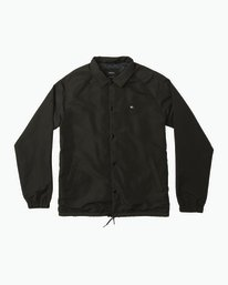 0 ATW II Coaches Jacket Black M701QRAT RVCA