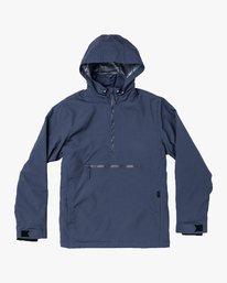 0 Accomplice Anorak Jacket Blue M704VRAC RVCA