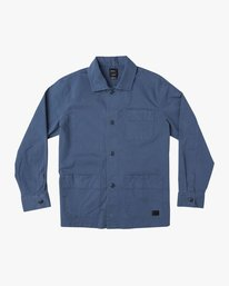 0 Couleur Chore Coat Shirt Blue M705TRCC RVCA