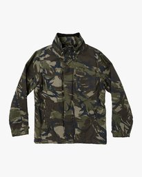 0 Field Canvas Coat Camo M705VRFC RVCA
