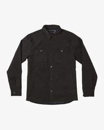 0 Utility Shirt Jacket Black M708QRUS RVCA