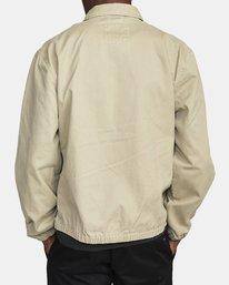 3 Piston Jacket Beige M7093RPI RVCA