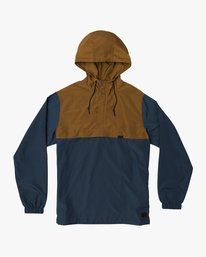 0 Packaway Anorak II Jacket Brown M710QRPA RVCA