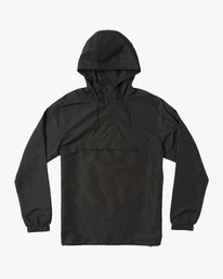 0 Packaway Anorak II Jacket Black M710QRPA RVCA