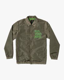 0 Berni Coaches Jacket Green M721VRBE RVCA