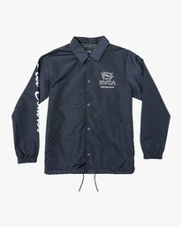 0 Berni Coaches Jacket  M721VRBE RVCA