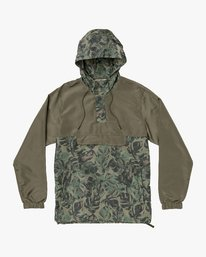0 Killer Anorak Jacket Green M722VRKI RVCA