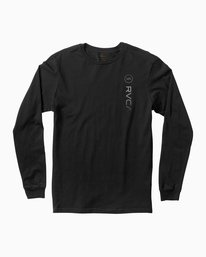 0 RVCA Sport Long Sleeve T-Shirt Black M800K00R RVCA