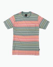 0 Rusholme Striped T-Shirt  M903SRRS RVCA