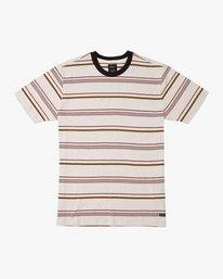 0 Avila Striped Knit T-Shirt  M903TRAS RVCA