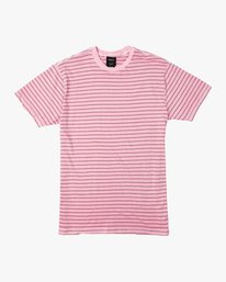0 Automatic Stripe Knit Shirt Pink M905TRCS RVCA