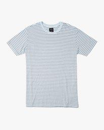 0 Automatic Stripe Knit Shirt Blue M905TRCS RVCA
