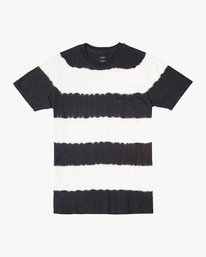 0 Kamli Stripe Knit Shirt Black M905URIS RVCA