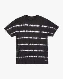 0 Rail Stripe Knit T-Shirt Black M905VRRS RVCA