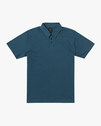 0 SURE THING III POLO SHIRT Green M9101RST RVCA