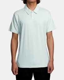 1 SURE THING III POLO SHIRT Green M9101RST RVCA