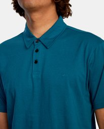 3 SURE THING III POLO SHIRT Green M9101RST RVCA