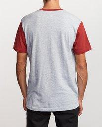 2 Pick Up Knit Shirt Red M913QRPU RVCA