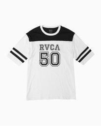 0 Fifty Sense Hawaii Jersey T-Shirt White M950TRFS RVCA