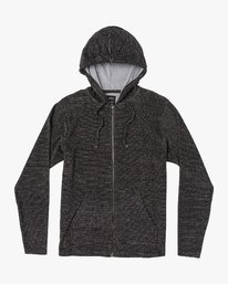 0 Super Marle Zip Knit Hoodie Beige M951VRSM RVCA