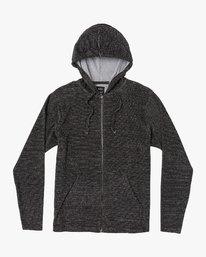 0 Super Marle Zip Knit Hoodie Green M951VRSM RVCA