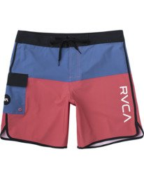 "0 EASTERN BOARDSHORT 20"" Red MA117EAS RVCA"
