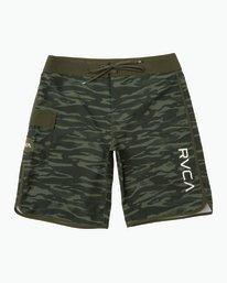 "0 Eastern 20"" Boardshorts Camo MA117EAS RVCA"