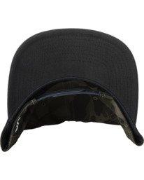 4 RVCA Twill II Snapback Hat Green MAAHWRSB RVCA