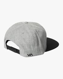 1 RVCA Twill II Snapback Hat Yellow MAAHWRSB RVCA