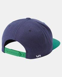 1 RVCA TWILL II SNAPBACK HAT Multicolor MAAHWRSB RVCA