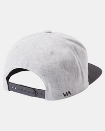3 RVCA Twill II Snapback Hat Yellow MAAHWRSB RVCA