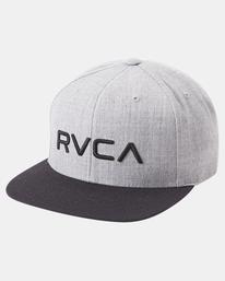 2 RVCA Twill II Snapback Hat Yellow MAAHWRSB RVCA