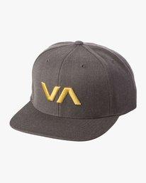 0 VA Snapback II Hat Grey MAAHWVAS RVCA