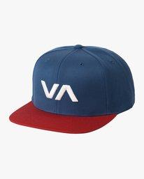 0 VA Snapback II Hat Blue MAAHWVAS RVCA
