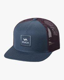 0 VA ATW TRUCKER HAT Blue MAAHWVWY RVCA