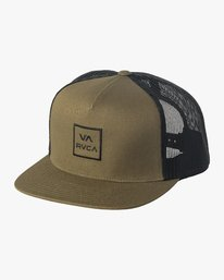 0 VA All The Way Trucker Hat III Green MAAHWVWY RVCA